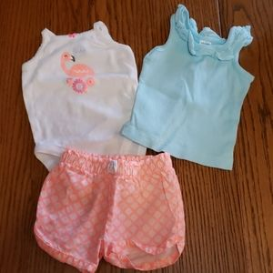 3 piece summer outfit